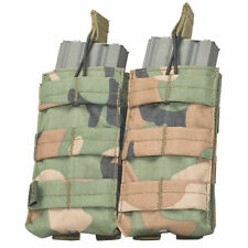 Valken V-TAC M4/M16 Airsoft Magazine Double Pouch - Woodland