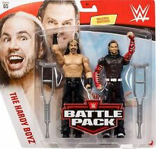 Jeff Hardy & Matt Hardy WWE Battle Pack Series 65 Action Figures Toy - New