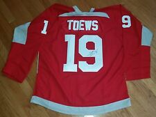JONATHAN TOWES 'CHICAGO BLACKHAWKS' CAPTAIN STANLEY CUP SIGNED RED JERSEY *COA 1