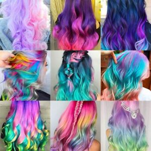 Hot 8 Colors Hair Color Portable Hair Chalk Powder  Temporary Pastel Hair Dye