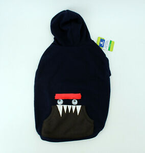 NWT Top Paw Dog Sweatshirt Size Large L Pullover Monster Blue Hooded - NEW!