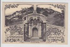 AK Artstetten, Schloß, Grufteingang, Maria-Taferl 1917