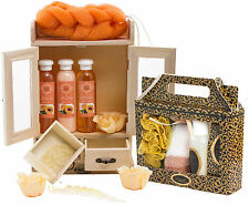 BRUBAKER 'Peach Vanilla' 15 Pcs. Bath Set Xmas Gift for Her Ladies Women