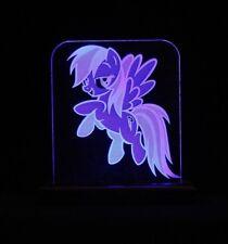 my little pony Rainbow dash blue led light / night light