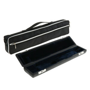Durable Hard Case Box with Bag Cover Repalcement Parts for 17 Hole Flute