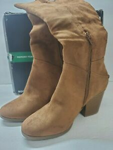 New A.N.A Woman's Casual Mid-Calf BOOTS, Booties, Size 7.5, (reg.$90) Free Ship