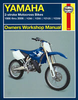 Yamaha YZ80 YZ85 YZ125 YZ250 2-Stroke 1986-2006 Haynes Manual 2662 NEW