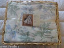 Shabby Chic Cotton Throw Blanket Rachel Ashwell Style Cottage Garden Botanical