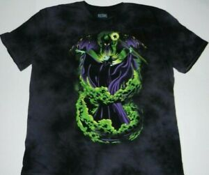 Disney Maleficent Transforming Dragon Tie Dye Adult T-Shirt New   XL