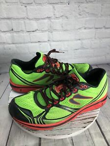 Newton Motion VII 7 Mens 13 Running Sport Shoes Trainers green M000318