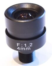 4 mm Board Lens avec Manuel Iris Pour CCTV Caméras De Sécurité (MF Mi 4 M12)