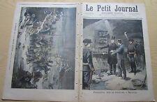 Le petit journal 1894 165 Barcelone souterrain