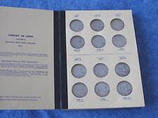 1948-1963 Franklin Silver Half Dollar complete set of 35 coins B7346