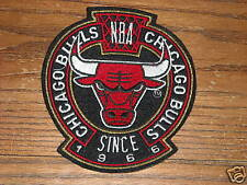 LOT OF 25 VINTAGE CHICAGO BULLS 4 1/2 INCH PATCH