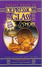 Pocket Guide to Depression Glass & More 1920s-1960s New  With Free shipping