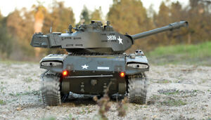 2.4G RC USA M41A3 RC 1:16 Heng Long Walker Bulldog Tank Smoking Army Battle Tank