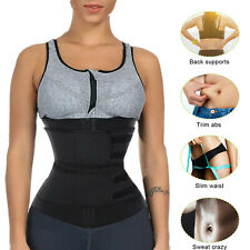 Women Waist Trainer Body Shaper Slimmer Sweat Belt Tummy Control Neoprene Belt