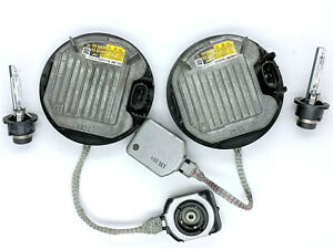 2x OEM HID Xenon Headlight Ballast & Philips D4S Bulb for Lexus LS LX IS GS RX