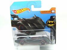 Batmobile 5/5 DC Comics noir et rouge Hot Wheels Comme neuf sur Court Carte