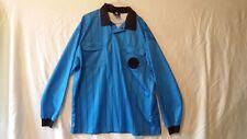 Mens Soccer Referee Jersey, Blue FINAL DECISION, Size XL