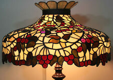 Chicago Mosaic Leaded Stained Glass Lamp Shade Cherry Tree Tiffany Style 25""