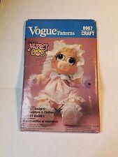 Vogue Craft 8967 Jim Henson's Muppet Babies Miss Piggy, Uncut in factory fold