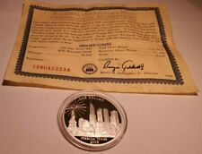 National Collectors Mint 2008 Freedom Tower $1 Dollar .999 Pure Silver 1 OZ