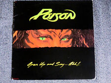 POISON - Open up and say...ahh! - LP / 33T