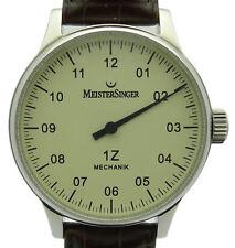 Meistersinger 1z einzeigeruhr bm3.03 acciaio di 2004