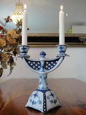 Kerzenleuchter Porzellan Zwiebelmuster Edel Kerzenhalter Antik Kerzenständer NEU