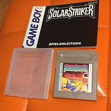 Gameboy Nintendo Game Boy Modul Solar Striker mit Anleitung
