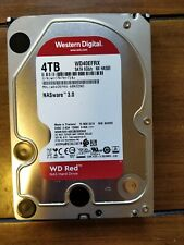 Western Digital 4TB NAS ware 3.0 WD RED Hard Drive Wd40efrx