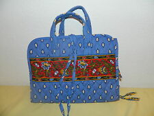 "VERA BRADLEY ""FRENCH BLUE"" HANGING ORGANIZER RETIRED & RARE EUC"