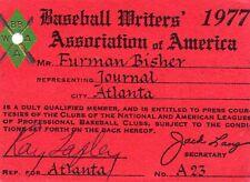 1977 Eddie Murray Debut/First Hit/First HR Ticket pass Baltimore Orioles