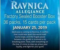 MTG Ravnica Allegiance Booster Box - Magic the Gathering Pre-Sale-Ships 01/25/19