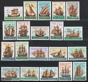 Mozambique sc#435-454 (1963) Development of Sailing Ships full set OG MNH**