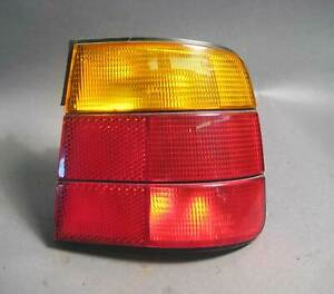 BMW E34 5-Series Right Rear Outside Side Panel Tail Light 1989-1995 USED OEM