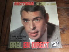 DISQUE 45 TOURS 3 TITRES JACQUES BREL NO barclay 70725 direct olympia