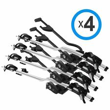 THULE Proride 598 Silver-598001 - Four Pack - Free Shipping, Key-Alike + Gifts!