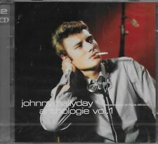 "JOHNNY HALLYDAY ALBUM 2 CD ""ANTHOLOGIE* 44 TITRES VOLUME 1 NEUF SOUS BLISTER"