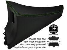 GREEN Stitch 1x Passeggero Porta Interruttore Pannello copertura della pelle si adatta TOYOTA SUPRA MK4