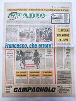 CORRIERE DELLO SPORT 28-8-1978 TROFEO CITTA' DI MILANO MILAN BATTE JUVENTUS 4-2