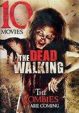 The Walking Dead: 10 Zombie Movies (DVD, 2013, 2-Disc Set) *FREE Shipping*
