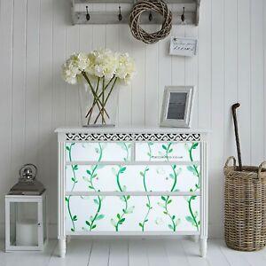 GREEN LEAF STICKY BACK PLASTIC SELF ADHESIVE VINYL PVC WALLPAPER FABLON MODERN