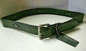 Harley-Davidson Men's Belt, H-D Diamond Studs Design, Black, Size 36, Brand New