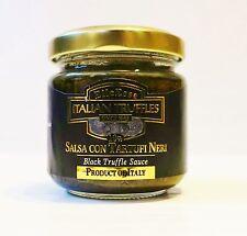 Trüffel Salsa con tartufi neri schwarze Trüffel Soße Trüffel Pesto 90g ITALIEN !