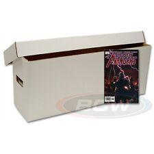 Long Comic Cardboard Storage Box  -SET OF 10-