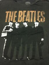 Beatles 2Xl Gray T-Shirt Rock Music Band Lennon McCartney Ringo Apple