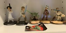 Disney Infinity star wars set - Obi-Wan Kenobi, Yoda, luke, leia & ahsoka