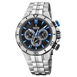 Festina F20448-5 Men's Chrono Bike Wristwatch